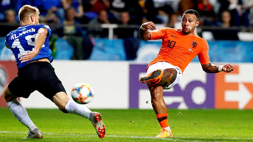 Đội tuyển Hà Lan hạ chủ nhà Estonia 4-0